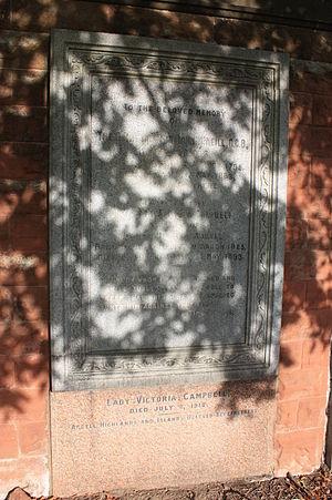 John McNeill (diplomat) - Memorial to Sir John McNeill and Lady Emma Augusta McNeill, Liberton Cemetery, Edinburgh
