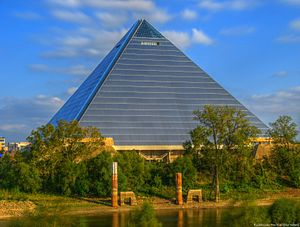 Vancouver Grizzlies relocation to Memphis - The Memphis Pyramid, then known as Pyramid Arena, was the home venue for the Grizzlies from 2001 to 2004.