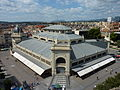 Mercat Central de Sabadell. Visió des de la Torre de l'antiga Escola Industrial.JPG
