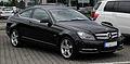 Mercedes-Benz C 180 BlueEFFICIENCY Coupé (C 204) – Frontansicht (2), 10. Juli 2011, Velbert.jpg