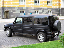 5bf00beded Mercedes G 55 extralong version of the Russian president