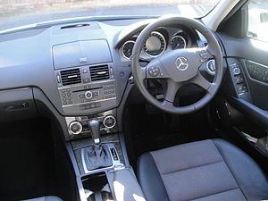 Mercedes benz c class wikivisually mercedes benz c class w204 interior pre facelift fandeluxe Choice Image