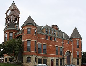 National Register of Historic Places listings in Lincoln County, Wisconsin - Image: Merrill Wisconsin City Hall Historic