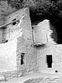 Mesa Verde National Park Colorado Black and White Photo.jpg