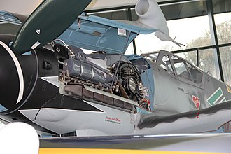 Erich Hartmann - Bf 109 in the Hartmann color scheme on display at the Evergreen Aviation & Space Museum
