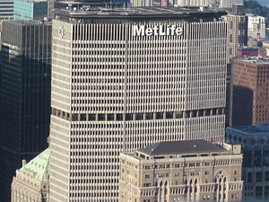 MetLife Building - Image: Met Life from Empire State Building