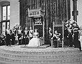 Met het voorlezen van de troonrede opent koningin Juliana de Staten Generaal Re, Bestanddeelnr 908-9547.jpg