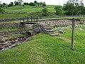 Metal Footbridge over Slei Gill - geograph.org.uk - 825629.jpg