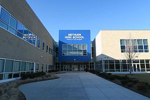 Methuen, Massachusetts - Methuen High School