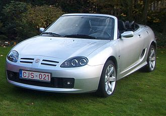 MG Rover Group - Image: Mg TF 2004