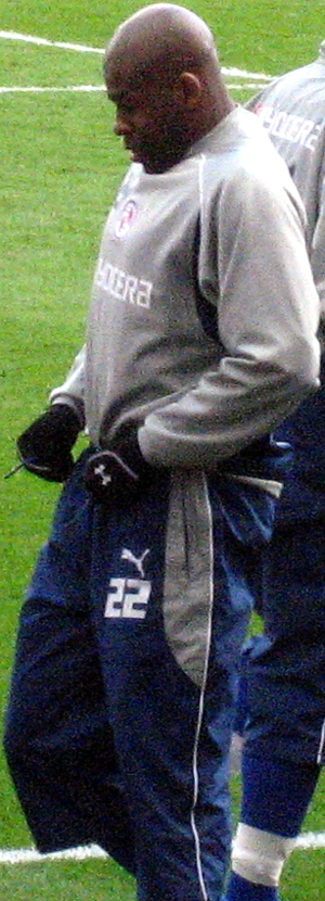 Michael Duberry - Duberry training with Reading in 2007