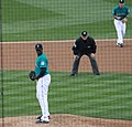 Michael Pineda looks in (5844766980).jpg