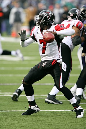 Michael Vick - Vick as a member of the Atlanta Falcons in November 2006