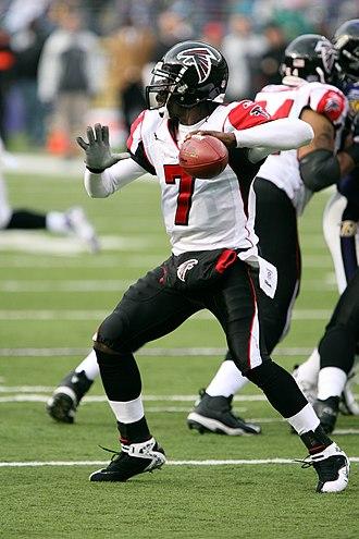 Michael Vick - Vick as a member of the Atlanta Falcons in November 2006