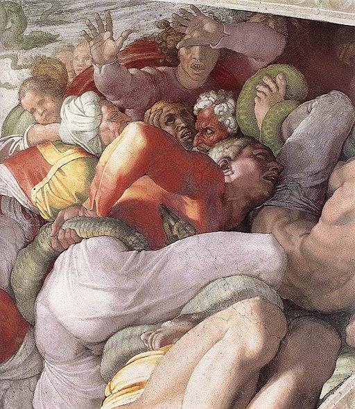 Michelangelo, Brazen Serpent 03
