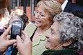 Michelle Bachelet visita junta de vecinos Nº 34 de la comuna de Lo Espejo (8672264899).jpg