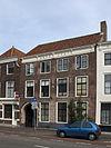 foto van Huis met rechte gevel, in lijst gedateerd 1727