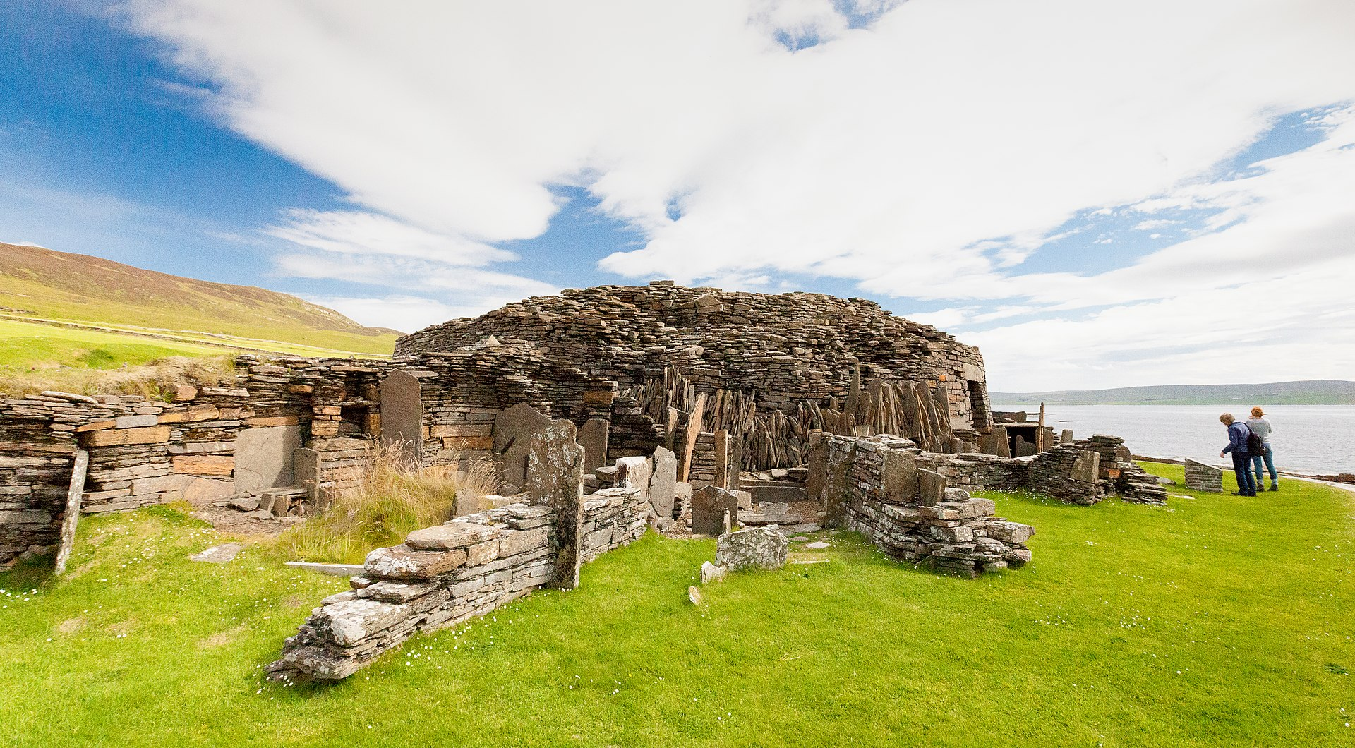 Midhowe broch, Rousay, Orkney