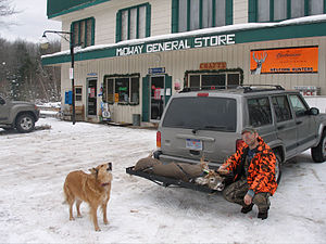 Alger County, Michigan - The Midway General Store on FFH-13 in southern Alger County