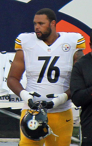 Mike Adams (offensive tackle) - Adams with the Pittsburgh Steelers