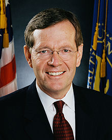 Portrait officiel de Michael O. Leavitt, 2005