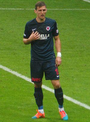 Milan Mitrović - Mitrović with Mersin İdmanyurdu in 2014
