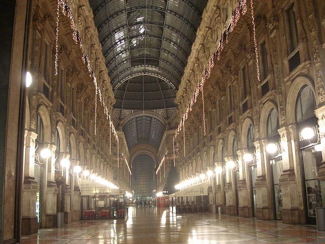 Visita a Milán: Galería Vittorio Emanuele