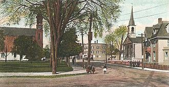 Millbury, Massachusetts - Millbury Center c. 1905