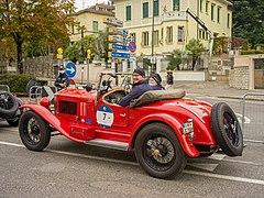 Mille Miglia 2020 partenza N 7 OM 665 Superba in Viale Venezia a Brescia.jpg
