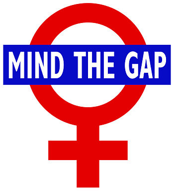 "English: ""Mind the Gap"" goes feminist."