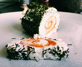 Roulade - Salmon and dill mini roule