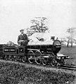 Miniature Railways locomotive on a photo by Franz Otto Koch, (retouched).jpg