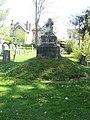 Miniature mound in Mound Cemetery.jpg