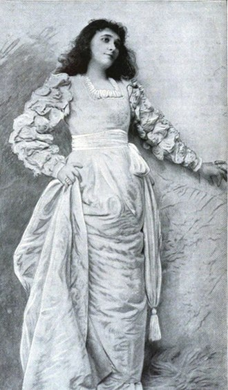 Minna Gale - Minna K. Gale, from an 1892 publication; from a photograph by Sarony.