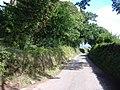 Minor road, to Kenn - geograph.org.uk - 1458125.jpg