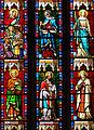 Miradoux - Eglise Saint-Orens-et-Saint-Louis - Vitrail du chevet -2.JPG