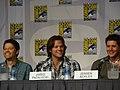Misha Collins, Jared Padalecki & Jensen Ackles (4852029745).jpg