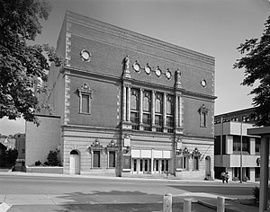 Mishler Theatre - Front of the theater