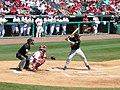 Mississippi State at Arkansas baseball 2013, 007.jpg