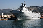 The Mistral in Toulon harbour