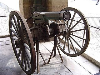 Volley gun Gun with multiple single-shot barrels capable of firing simultaneously or in quick succession
