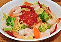 Mmm... spicy shrimp ramen (6802589509).jpg