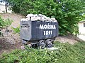 Mořina, důlní vozík (01).jpg