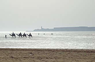 Mogador Island - Mogador Island, seen from Essaouira beach.