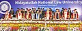 Mohd. Hamid Ansari at the 3rd convocation of the Hidayatullah National Law University, at Raipur, Chhattisgarh on October 17, 2015. The Chief Minister of Chhattisgarh, Dr. Raman Singh and other dignitaries are also seen.jpg