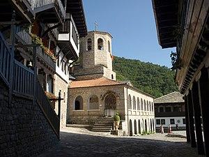 Monastery Sveti Jovan Bigorski Church