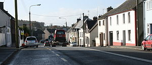 Moneygall - The R445 Limerick to Dublin road passes through Moneygall