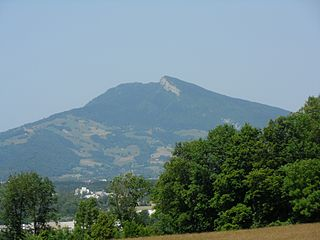 Mont Beauvoir mountain in France