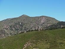 Il monte Taccone visto dai dintorni del Passo della Bocchetta