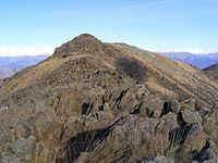 Monte colombano (visto dalla quota 1620 a sud del punto culminante).jpg